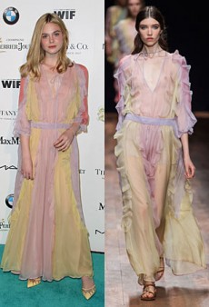 Runway to Real Life: Elle Fanning in Valentino, Julianne Moore in Dior Couture and More (Forum Buzz)