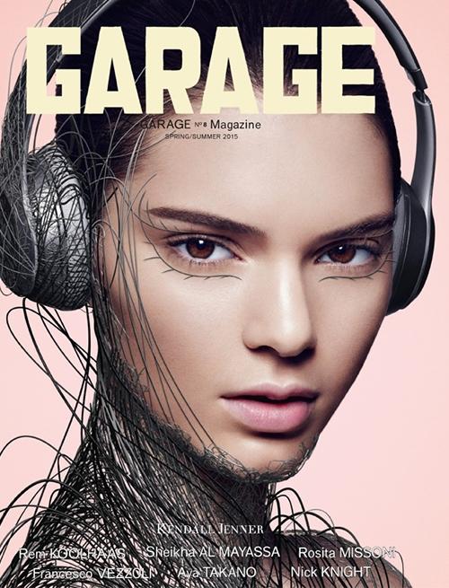 Garage Spring 2015 Kendall Jenner