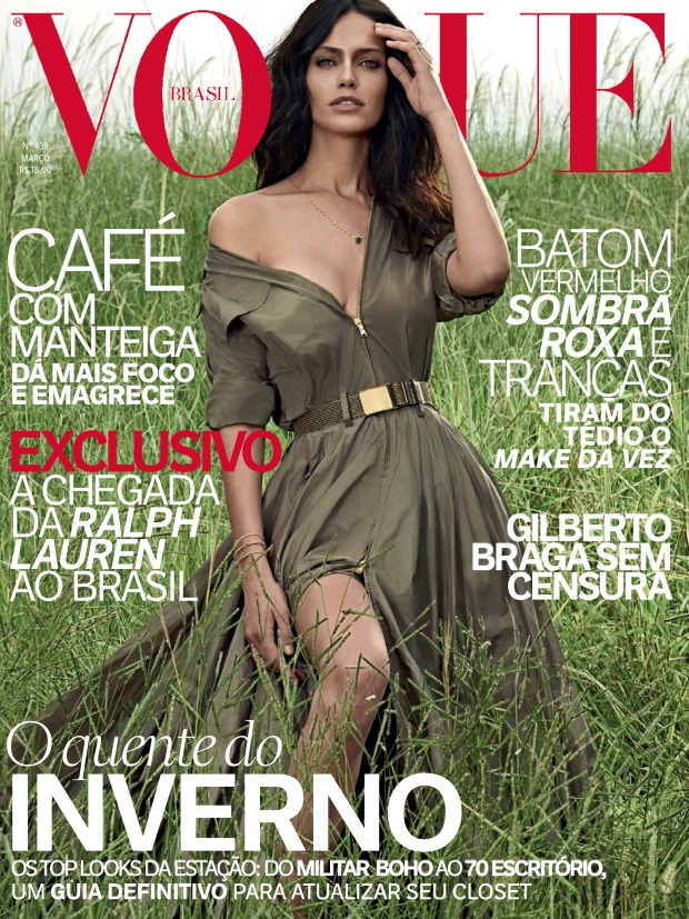 Vogue Brazil March 2015 Amanda Wellsh