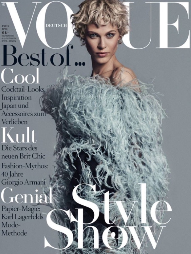 Vogue Germany April 2015 Aymeline Valade Giampaolo Sgura