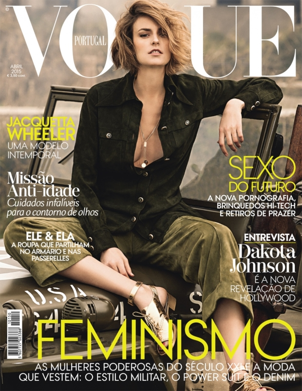 Vogue Portugal April 2015 Jacquetta Wheeler Frederico Martins
