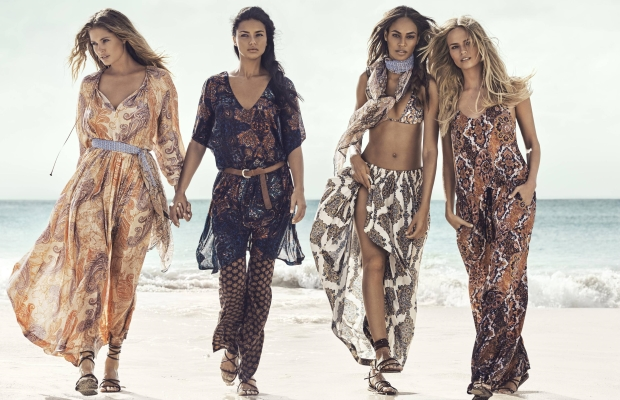 Ad Campaign H&M Summer 2015 Models by Lachlan Bailey