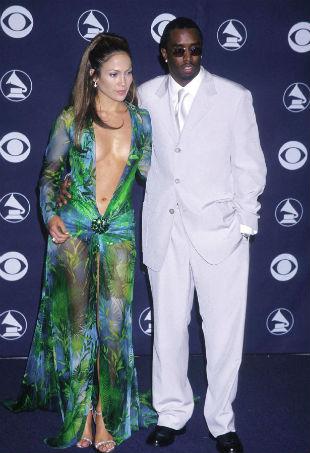 Jennifer Lopez Versace Grammys