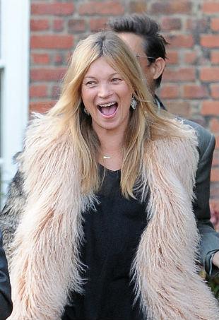 Kate Moss Fur Vest