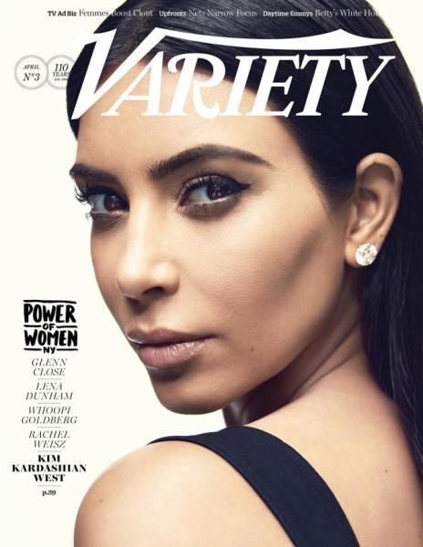 Kim Kardashian Variety Power of Women