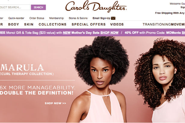 Carol's Daughter website