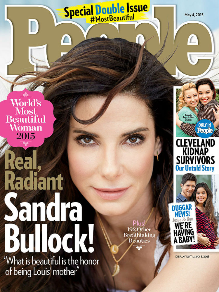 Sandra Bullock People Magazine