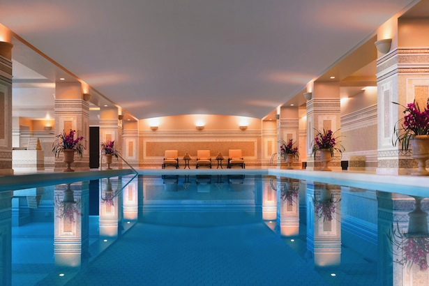 SPA MONTAGE INDOOR POOL. IMAGE: COURTESY OF MONTAGE DEER VALLEY