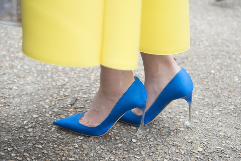 Fashion Week Street Style Shoes