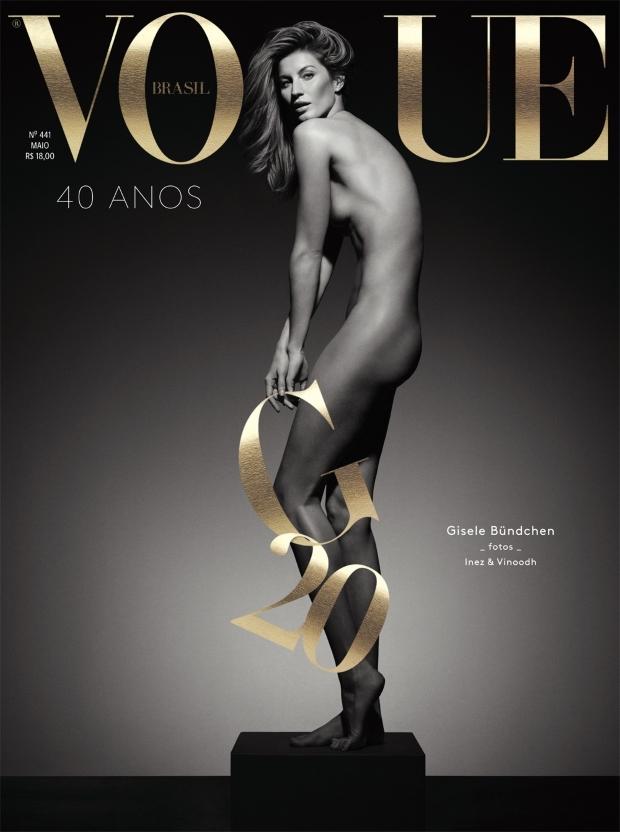 Vogue Brazil May 2015 Gisele Bundchen Inez & Vinoodh