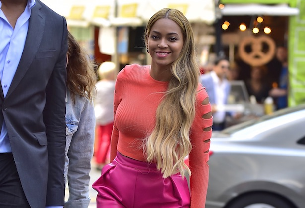 Beyoncé: Queen of flawless extensions and always being on the beat. Image: Alo Ceballos/GC Images