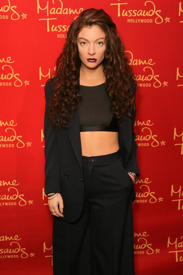 Lorde wax figure