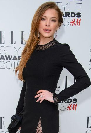 Lindsay Lohan elle style awards