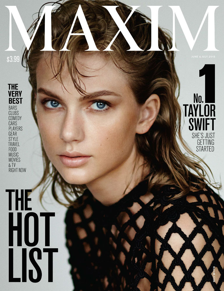Taylor Swift Tops Maxim U0026 39 S Hot List  Talks Feminism