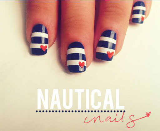 nautical-memorial-day-summer-nail-art-ideas