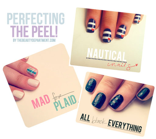 Nail Art With Tape: 9 Nail Polish Hacks And Tricks