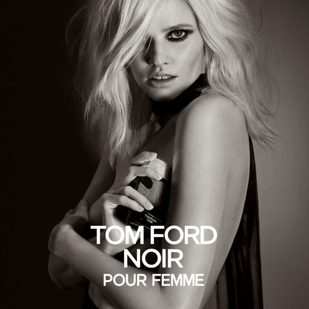 Ad Campaign Tom Ford Noir Pour Femme Lara Stone by Inez & Vinoodh