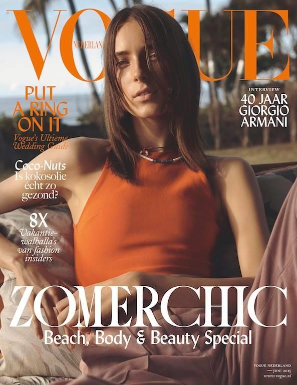 Vogue Netherlands June 2015 Julia Bergshoeff by Josh Olins