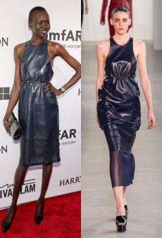 Runway to Real Life: Carolyn Murphy in Tom Ford, Alek Wek in Calvin Klein Collection and More (Forum Buzz)