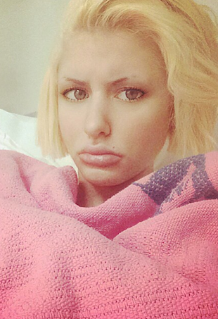Gabi Grecko in hospital