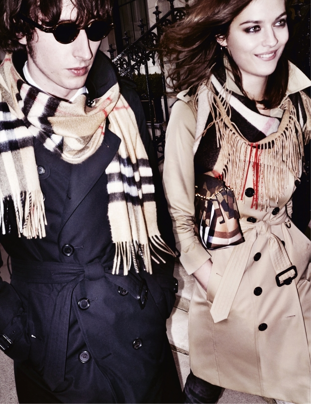 Burberry Fall 2015 Ad Campaign by Mario Testino