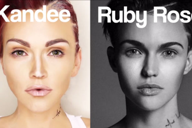 Ruby Rose Transofrmation