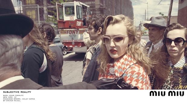 Miu Miu Fall 2015 Ad Campaign by Steven Meisel