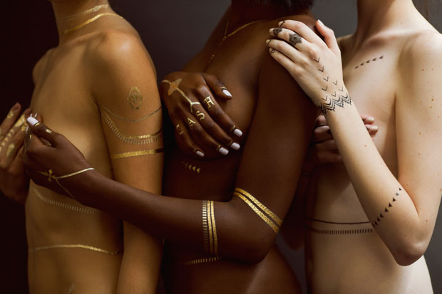 Jacquie Aiche x Rihanna flash tattoos
