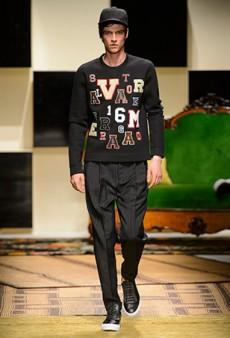 Salvatore Ferragamo Men's Spring 2016 Runway