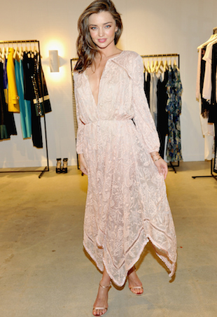 Miranda Kerr at Zimmermann Melrose Place