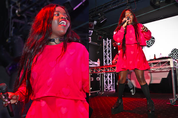 Tkay Maidza performs at Splendour pre-party