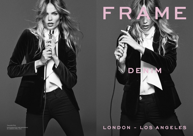 Frame Denim Fall 2015 Ad Campaign Natasha Poly by Erik Torstensson