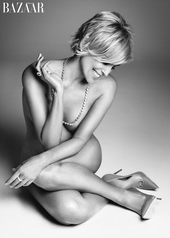 Sharon Stone Harper's Bazaar