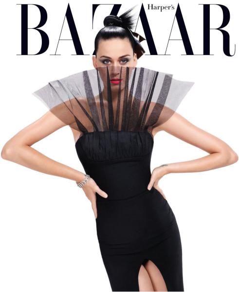 Katy Perry Harper's Bazaar Fall 2015 Cover