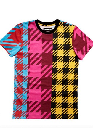A House of Holland limited edition official London Fashion Weekend gingham T-Shirt