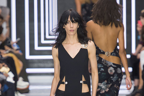 Versus Versace Spring 2016 runway