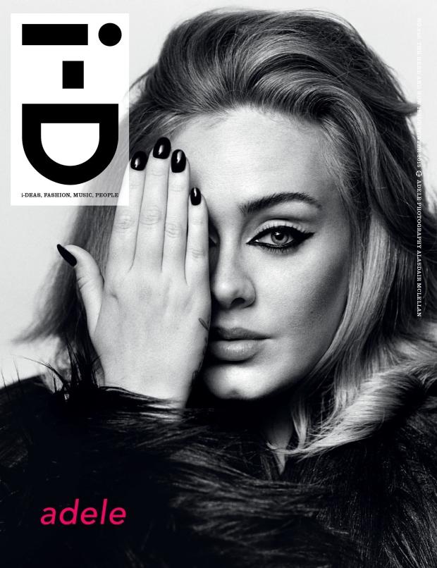 i-D Winter 2015 : Adele by Alasdair McLellan