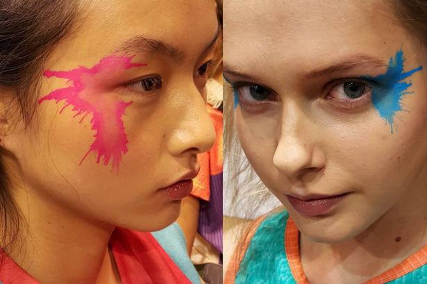 Issey Miyake SS16 Makeup