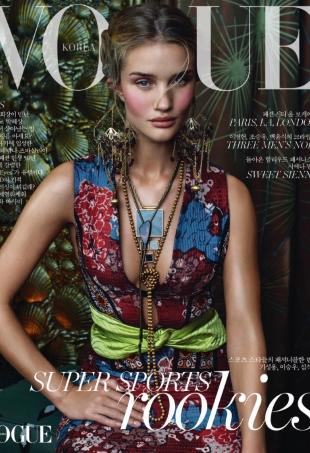 Vogue Korea November 2015 : Rosie Huntington-Whiteley by Sebastian Kim