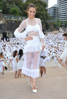 Look Inside Sydney's Secret All-White Dinner Party, Diner en Blanc
