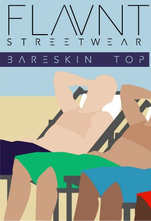 Bareskin Top Trans Swimwear