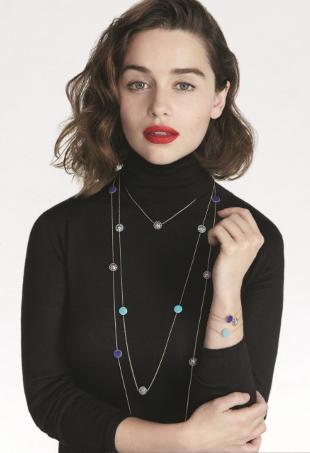 Christian Dior Joaillerie F/W 2015.16 : Emilia Clarke by Patrick Demarchelier