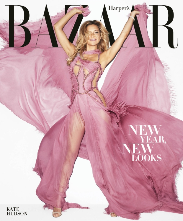 US Harper's Bazaar December 2015/January 2016 : Kate Hudson by Terry Richardson