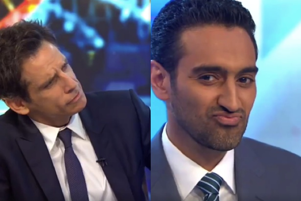 Ben Stiller and Waleed Aly