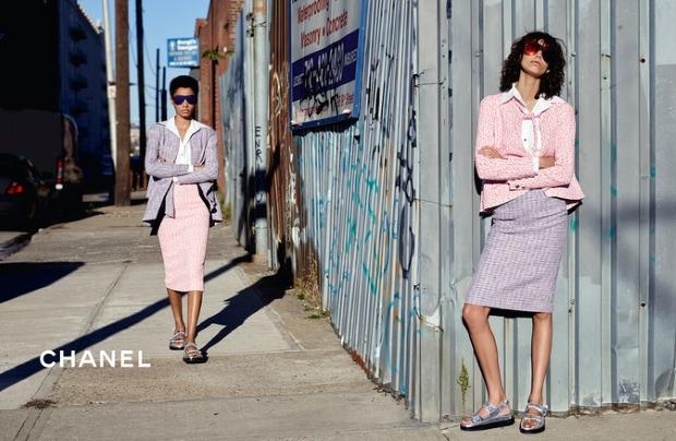 Chanel S/S 2016 : Lineisy Montero & Mica Arganaraz by Karl Lagerfeld