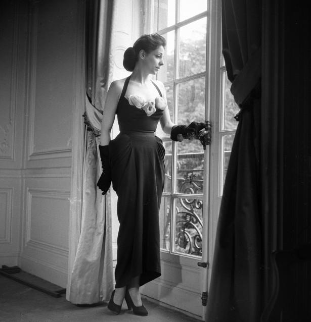 Dior dress in 1947