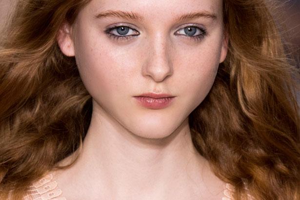 model with beautiful long hair
