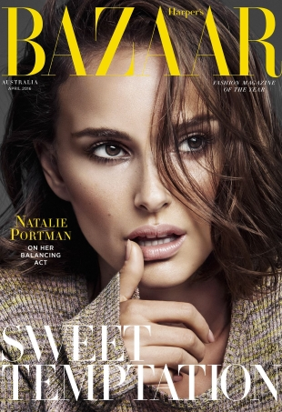 Harper's Bazaar Australia April 2016 : Natalie Portman by Alique