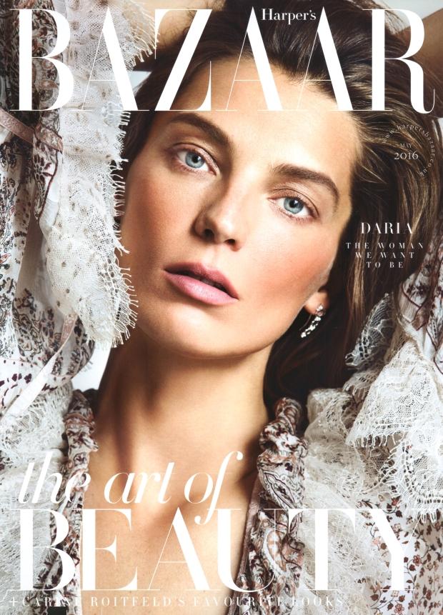 UK Harper's Bazaar May 2016 : Daria Werbowy by Nico Bustos