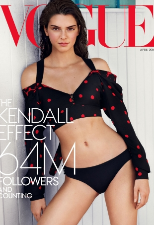 US Vogue Special Edition April 2016 : Kendall Jenner by Mario Testino